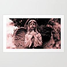 Angel details Art Print