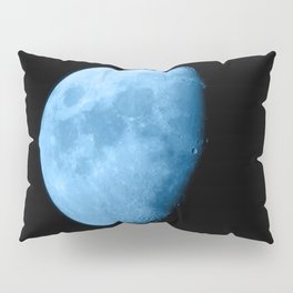 4K Dark Side of the Moon Ice Blue Pillow Sham