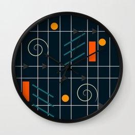 Minimal geometric game Wall Clock