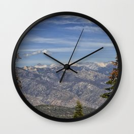 Kings Canyon, California from Sequoia National Park Wall Clock