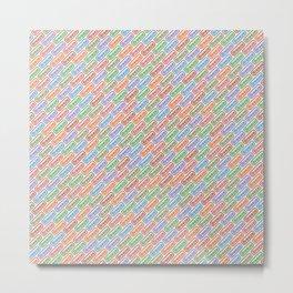Breeze 7 colors Metal Print