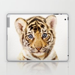 Baby Tiger, Baby Animals Art Print By Synplus Laptop & iPad Skin