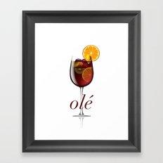 OLE Framed Art Print