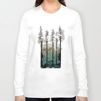 tennessee Long Sleeve T-shirts featuring Tennessee Mist by Derik Hobbs Illustration
