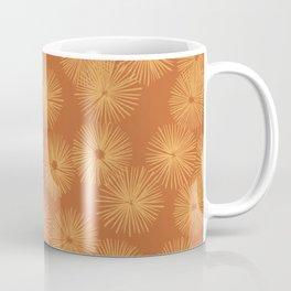 Orange Nasturtium Seamless Patten Coffee Mug