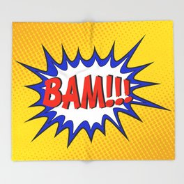 BAM Throw Blanket