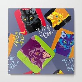 A lot of cats Metal Print
