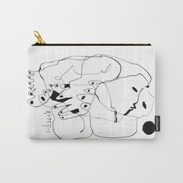 Purification of the Soul - b&w Carry-All Pouch