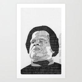 Eddie Turner / Blackenstein. Art Print