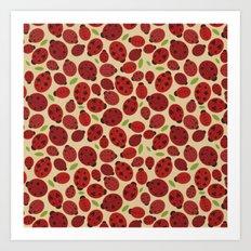 Ladybird Ladybird Art Print