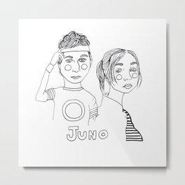 Juno Metal Print