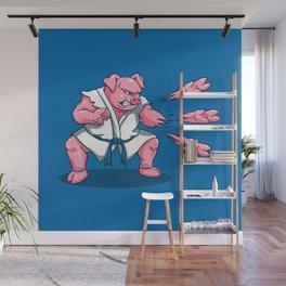 Pork Chops Wall Mural