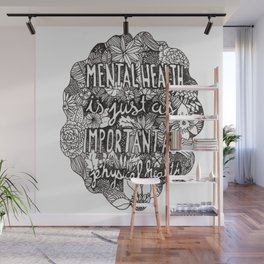 Mental Health Wall Mural