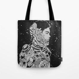 Space Nouveau Tote Bag