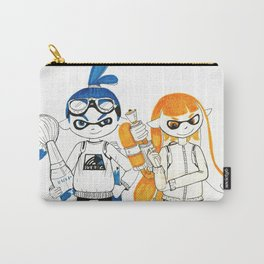 Inklings from Splatoon Carry-All Pouch