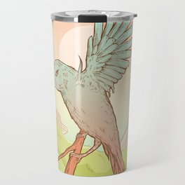 Clockhead (or the Contemplation of Time) Travel Mug