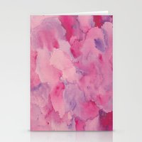 beth hoeckel Stationery Cards featuring Beth Rose Watercolor by Erin McClain Beck