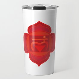 Muladhara Root Red Chakra Travel Mug
