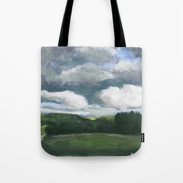 Impressionistic Kansas Landscape Tote Bag