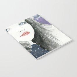 Embracing A Misty Morning Notebook