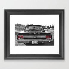 '65 Fairlane aesthetics Framed Art Print