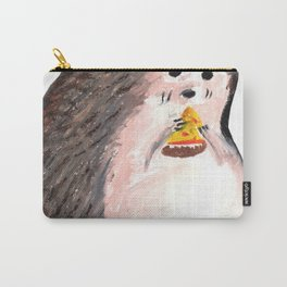 hedgehog eating pizza Carry-All Pouch
