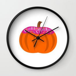 Flavors of Fall Wall Clock