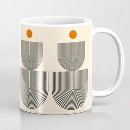 Abstraction_SUN_LINE_HARMONY_POP_ART_Minimalism_017S Coffee Mug