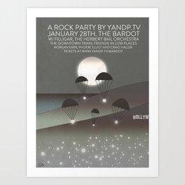 Filligar at Bardot Hollywood Art Print