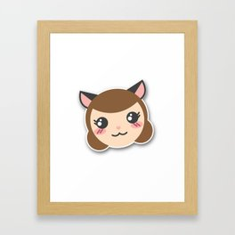 Happy Alexandra! Framed Art Print