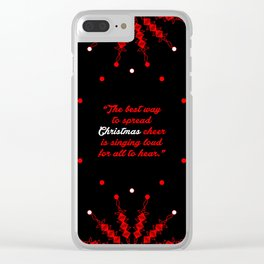 "The best way to... ""Will Ferrell, ELF"" Christmas Quote Clear iPhone Case"