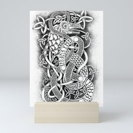 Jormungandr - The Midgard Serpent Mini Art Print