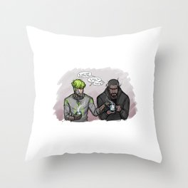 Still Kickin' Throw Pillow