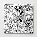 Black and white polka dot pattern . by fuzzyfox85