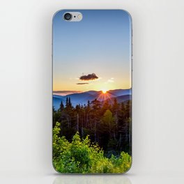 White Mountain Sunset iPhone Skin