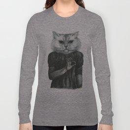 Cat Child Long Sleeve T-shirt