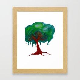 Mind Tree Framed Art Print