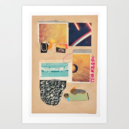 Verlorene Zeit Art Print