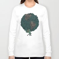 katamari Long Sleeve T-shirts featuring Prince Atlas by Hector Mansilla