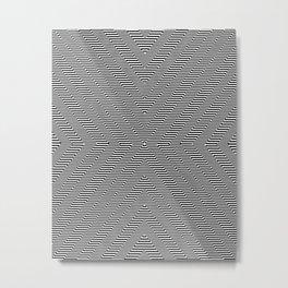 Moiré Ex One Metal Print