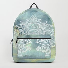 MANDALA ON MARBLE Backpack