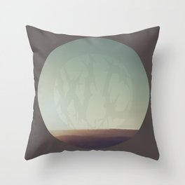 What A Terrible Place Throw Pillow
