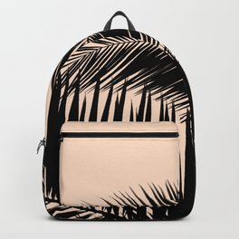 Palms on Pale Pink Backpack