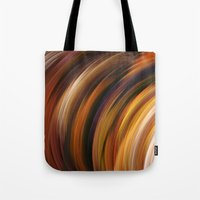 the strokes Tote Bags featuring Strokes by Andi GreyScale