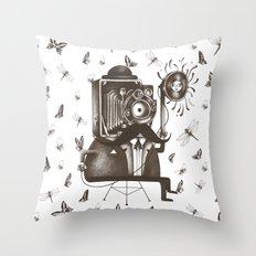 Photoshoot Throw Pillow