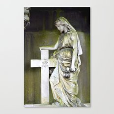 Green angel Canvas Print