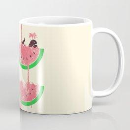 watermelon falls Coffee Mug