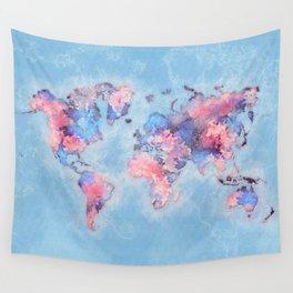 world map 110 #worldmap #world #map Wall Tapestry
