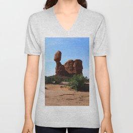 Balanced Rock Unisex V-Neck