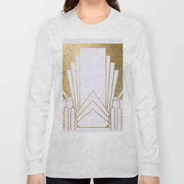 Art Deco design - blonde Long Sleeve T-shirt